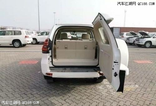 平行进口20款丰田普拉多4000内外后挂书包现车多少钱