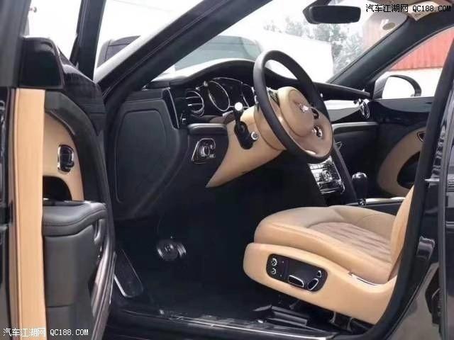 2020款欧规宾利慕尚加长版配置性能库房现车