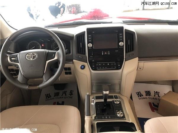 20款丰田酷路泽4000六缸标配优惠报价 现车最新评测