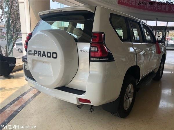丰田霸道4000的配置报价普拉多4.0L价格最新行情