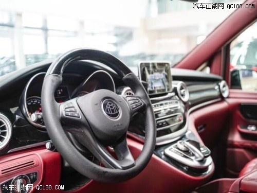 进口20款奔驰V250商务加长改造升级津港现车