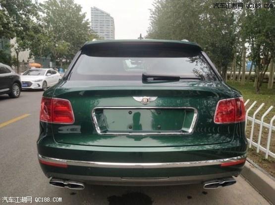 20款宾利添越4.0T豪华SUV天津港现车价格