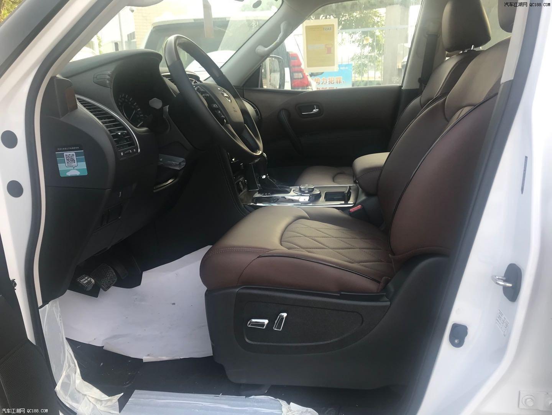 天津港20款日产途乐4.0XE动感舒适现车大促销