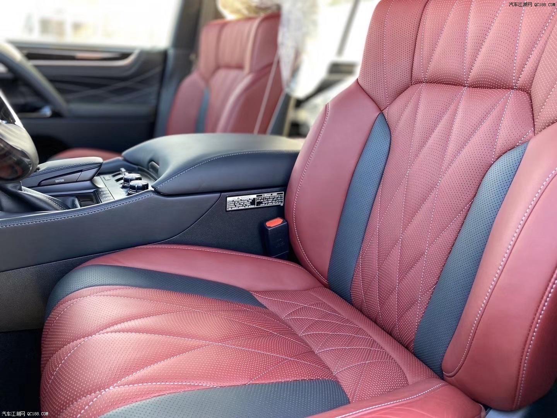 20款雷克萨斯LX570云南地区全新价格体验可分期