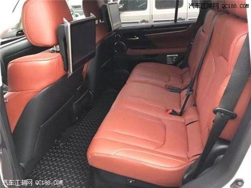20款雷克萨斯LX570云南地区价格 凌志570新报价