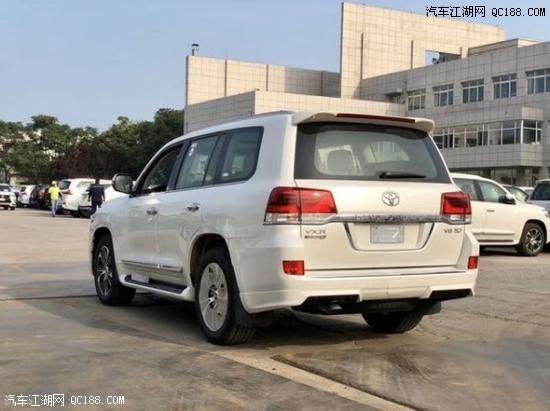 2020款丰田酷路泽5700V8中东版现车实拍简介