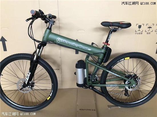 20新款奔驰电动自行车充电助力车