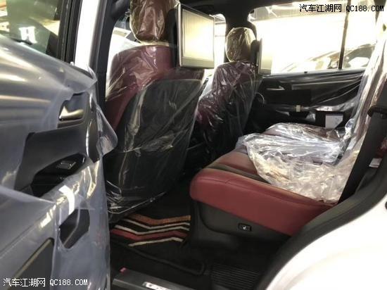 20款雷克萨斯LX570 天津港口现车目前市场报价