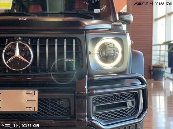 20款奔驰G63 磨砂黑到店现车颜色可选新价格