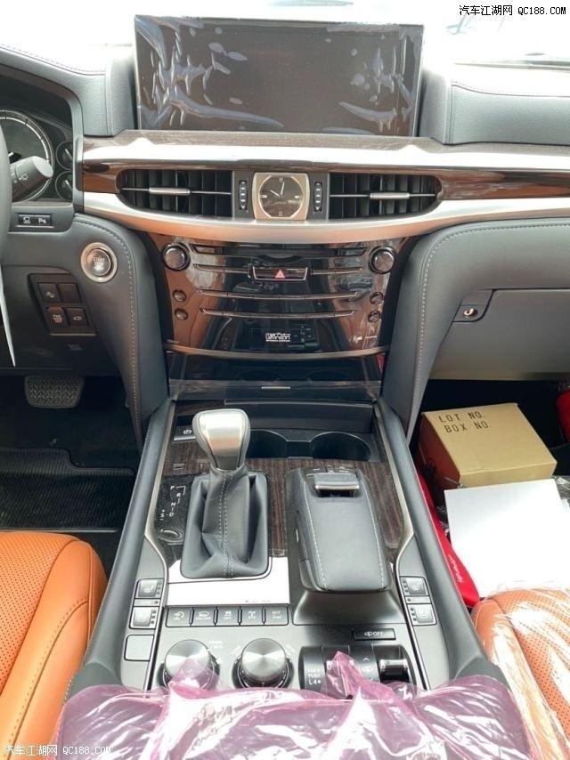20款雷克萨斯LX570中东版加拿大版新车销售报价及照片