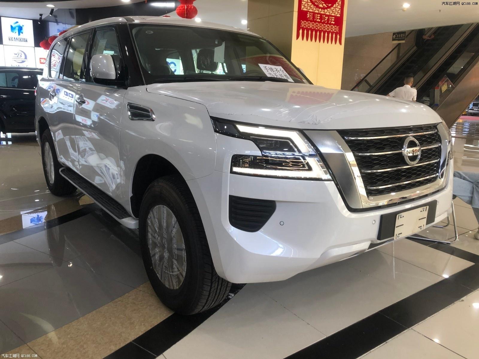 20款日产尼桑途乐4.0XE天津港口现车价格多少钱