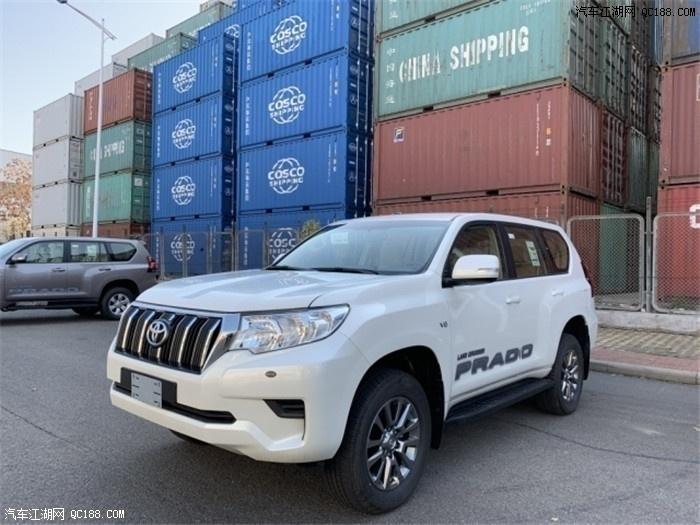 2020款丰田霸道4000TXL中东版港口现车价格行情