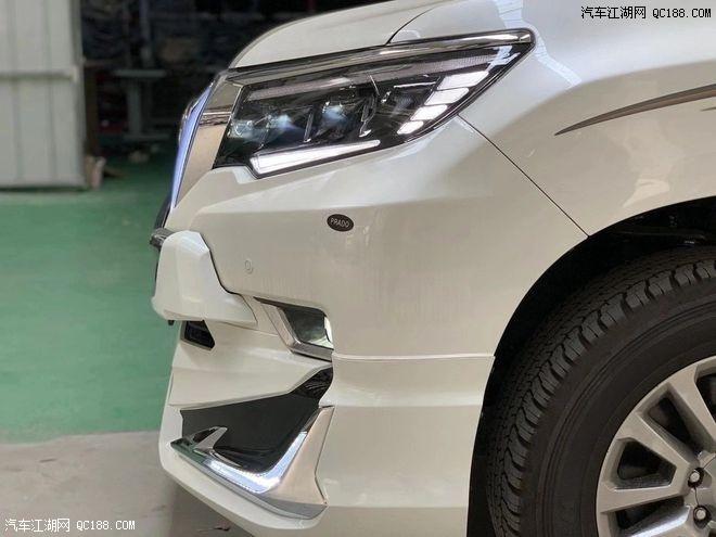 云南大理州庆车展中东版丰田霸道4000配置普拉多V6价格
