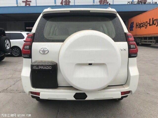 云南大理丰田专卖店中东版普拉多4000高配现车售价