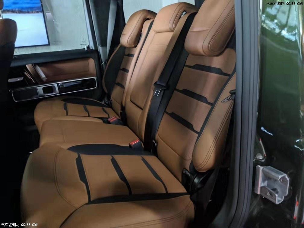20款奔驰G63哑光黑图片哪有现车多少钱配置售价
