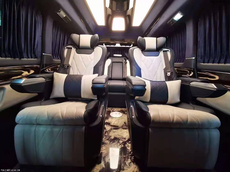 福建奔驰V260奢石板商务车7月促销行情