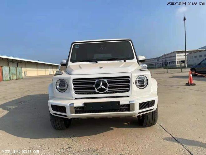 21款平行进口奔驰G500国六天津港现车优惠